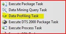 DataProfilling ToolBar
